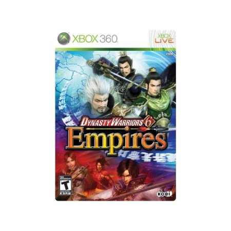 Dynasty Warriors 6 Empires - Usado  - Xbox 360