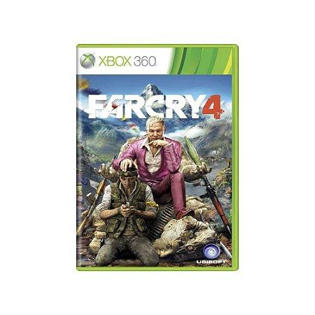 Jogo Far Cry 4 - |Usado| - Xbox 360