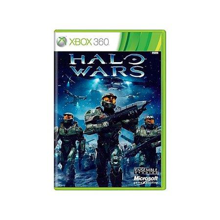 Jogo Halo Wars -  Usado  - Xbox 360