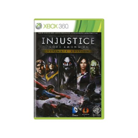 Injustice Gods Among Us (Ultimate Edition) - Usado - Xbox 360