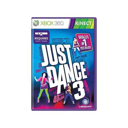 Just Dance 3 - Usado - Xbox 360