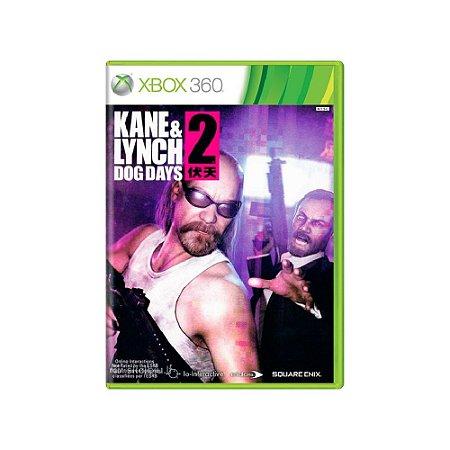 Kane & Lynch 2 Dog Days - Usado - Xbox 360