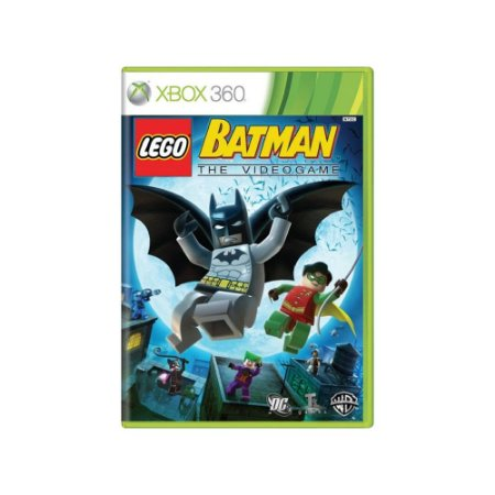 LEGO Batman The Video Game - Usado - Xbox 360