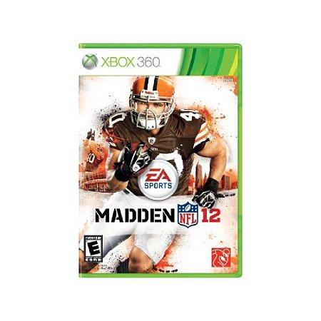 Madden NFL 12 - Usado - Xbox 360