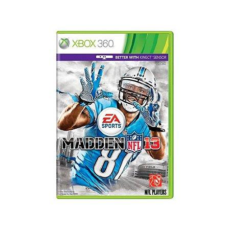 Madden NFL 13 - Usado - Xbox 360