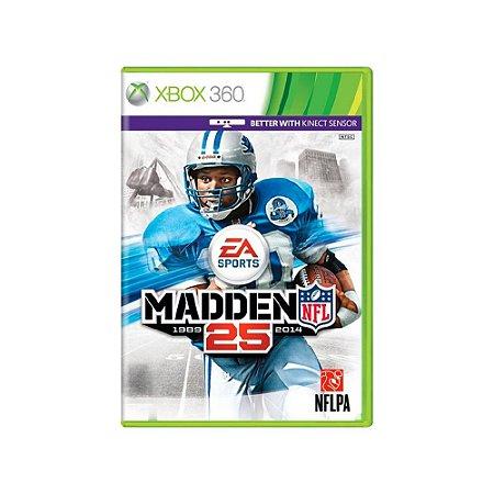 Madden NFL 25 - Usado - Xbox 360