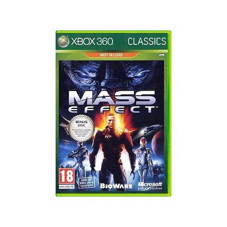 Mass Effect (Europeu) - Usado - Xbox 360