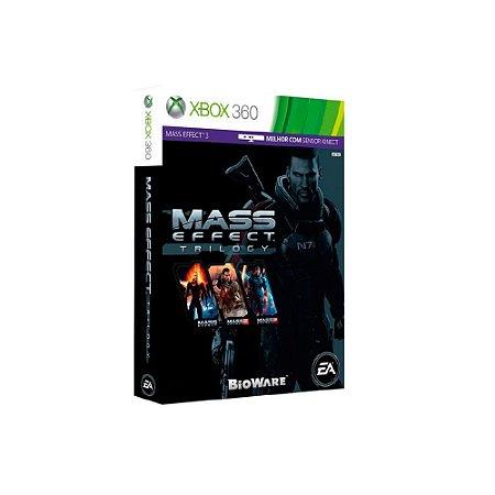 Mass Effect Trilogy - Usado - Xbox 360