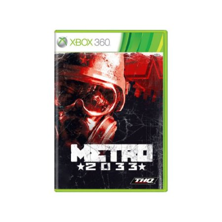 Metro 2033 - Usado - Xbox 360