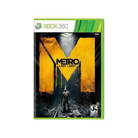 Metro Last Light - Usado - Xbox 360