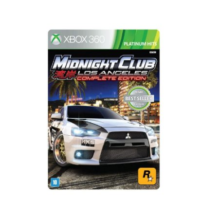 Midnight Club Los Angeles Complete Ed. - Usado - Xbox 360