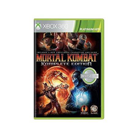 Mortal Kombat (Komplete Edition) - Usado - Xbox 360