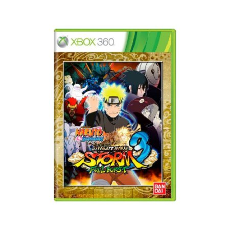 Naruto S. Ultimate Ninja Storm 3 Full Burst Usado - Xbox 360