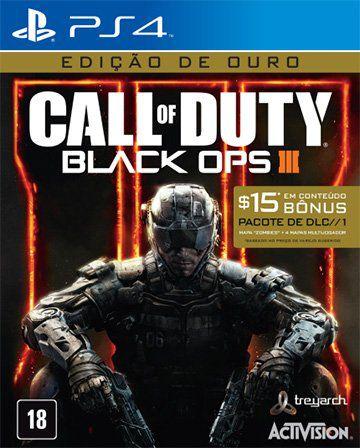 Call Of Duty Black Ops 3 - Edição De Ouro - PS4