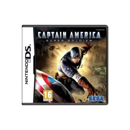 Captain America: Super Soldier - Usado -  DS