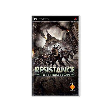 Resistance: Retribution - Usado - PSP
