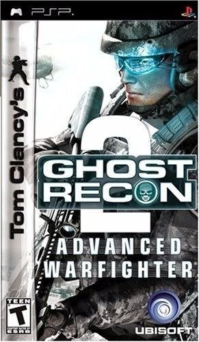Tom Clancys Ghost Recon Advanced Warfighter 2 - Usado - PSP
