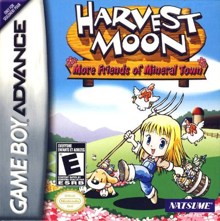 Harvest Moon More Friends of Mineral Town - Usado - GBA