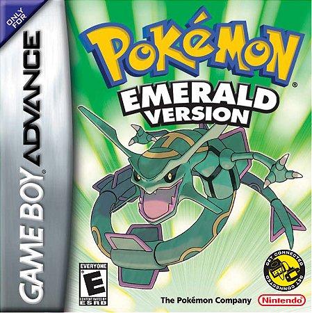 Pokémon Emerald Version - Usado - GBA