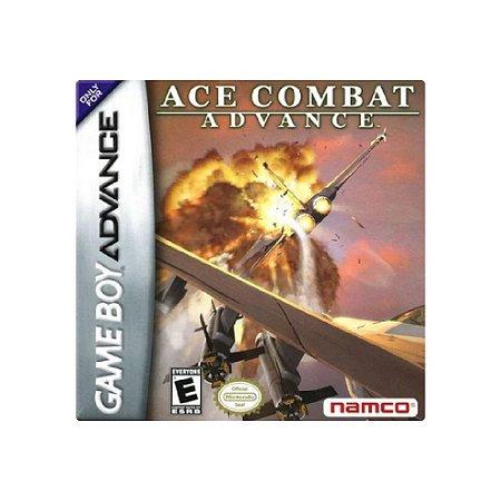 Jogo Ace Combat Advance - |Usado| - Game Boy Advance