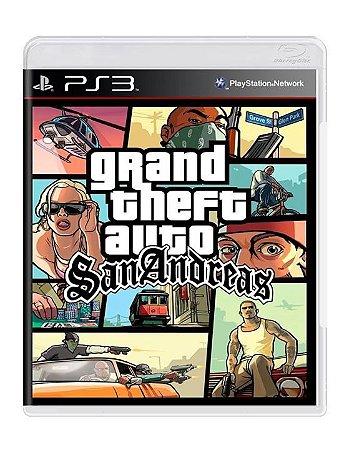 Grand Theft Auto San Andreas - Usado- Ps3
