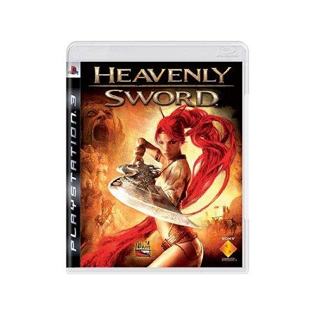 Heavenly Sword - Usado - PS3