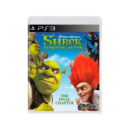 Shrek Forever After - Usado - PS3