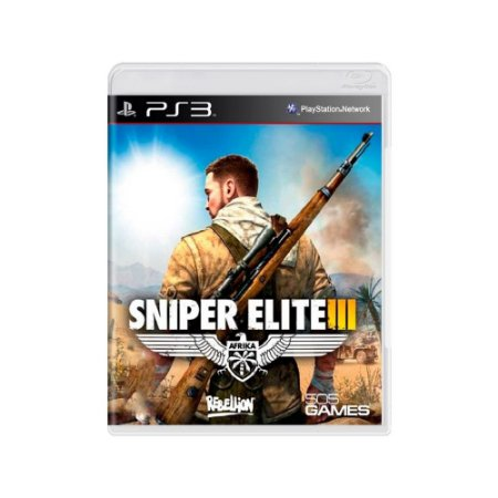 Sniper Elite III - Usado - PS3