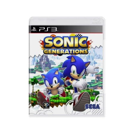 Sonic Generations - Usado - PS3