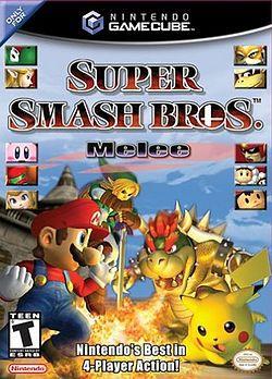 Super Smash Bros Meele - Usado - Gamecube