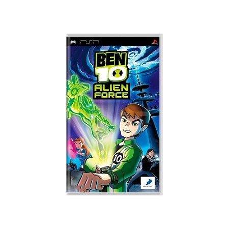 Ben 10: Alien Force - Usado - PSP