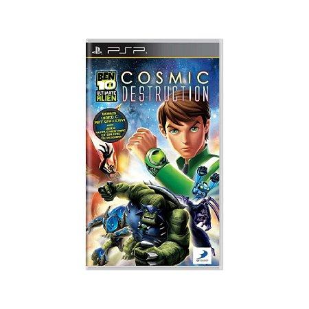 Ben 10 Ultimate Alien: Cosmic Destruction - Usado - PSP