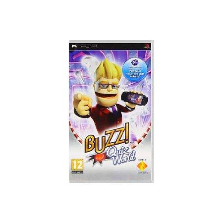 Buzz! Quiz World - Usado - PSP