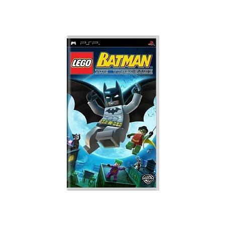 LEGO Batman: The Video Game - Usado - PSP