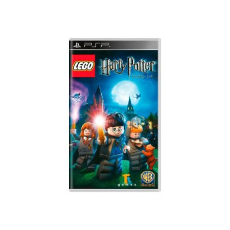 LEGO Harry Potter: Years 1-4 - Usado - PSP
