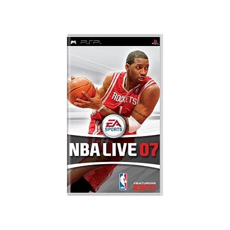 NBA Live 07 - Usado - PSP