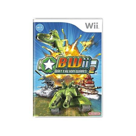 Jogo Battalion Wars 2 - |Usado| - Wii