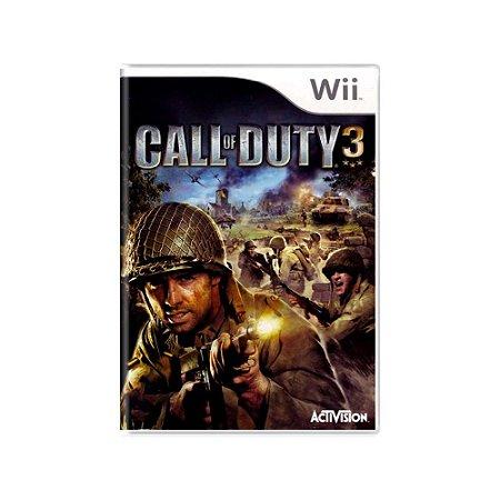 Call Of Duty 3 - Usado - Wii