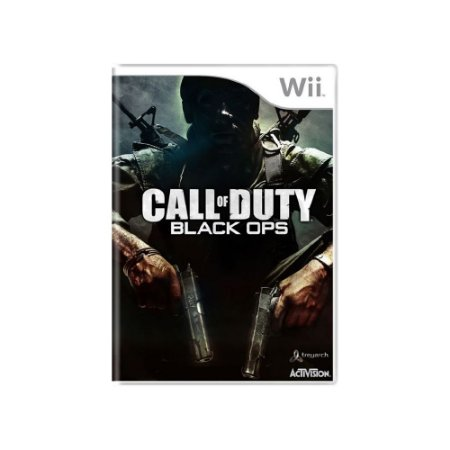 Call of Duty: Black Ops - Usado - Wii