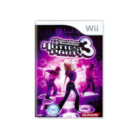 Dance Dance Revolution Hottest Party 3 - Usado - Wii
