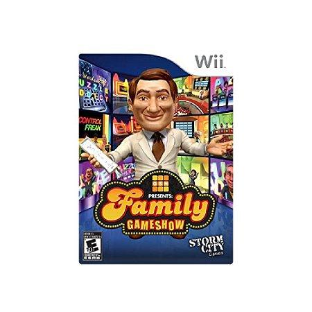 Family Gameshow - Usado - Wii