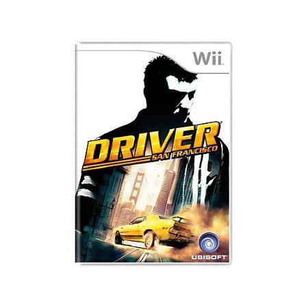 Jogo Driver: San Francisco - |Usado| - Wii