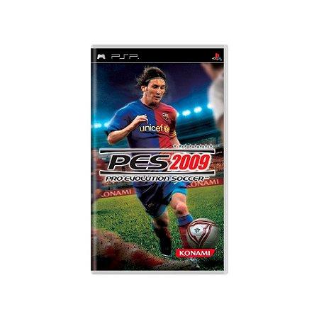 Pro Evolution Soccer 2009 (PES 09) - Usado - PSP