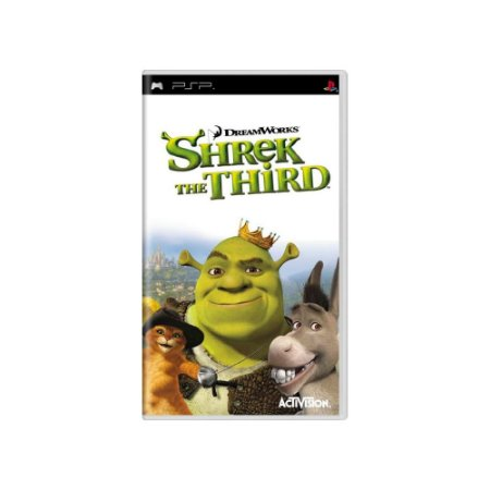 Shrek: The Third - Usado - PSP