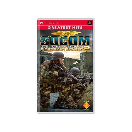 SOCOM: U.S. Navy SEALs Fireteam Bravo 2 - Usado - PSP