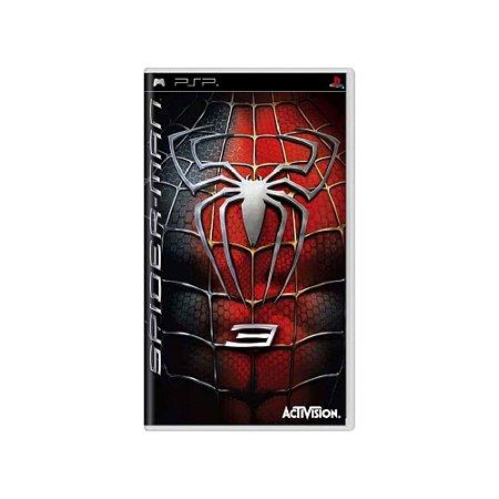 Spider-Man 3 (Sem Capa) - Usado - PSP