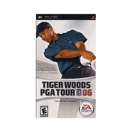 Jogo Tiger Woods Pga Tour 06 - |Usado| - PSP
