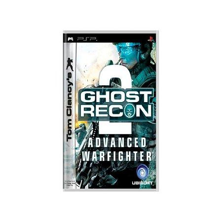 Tom Clancy's Ghost Recon Advanced Warfighter 2 - Usado - PSP