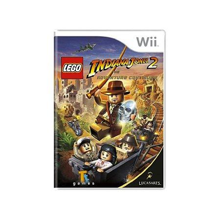 LEGO Indiana Jones 2: The Adventures Continues - Usado - Wii