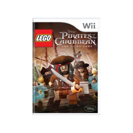 Jogo LEGO Pirates of the Caribbean: The Video Game - |Usado| - Wii